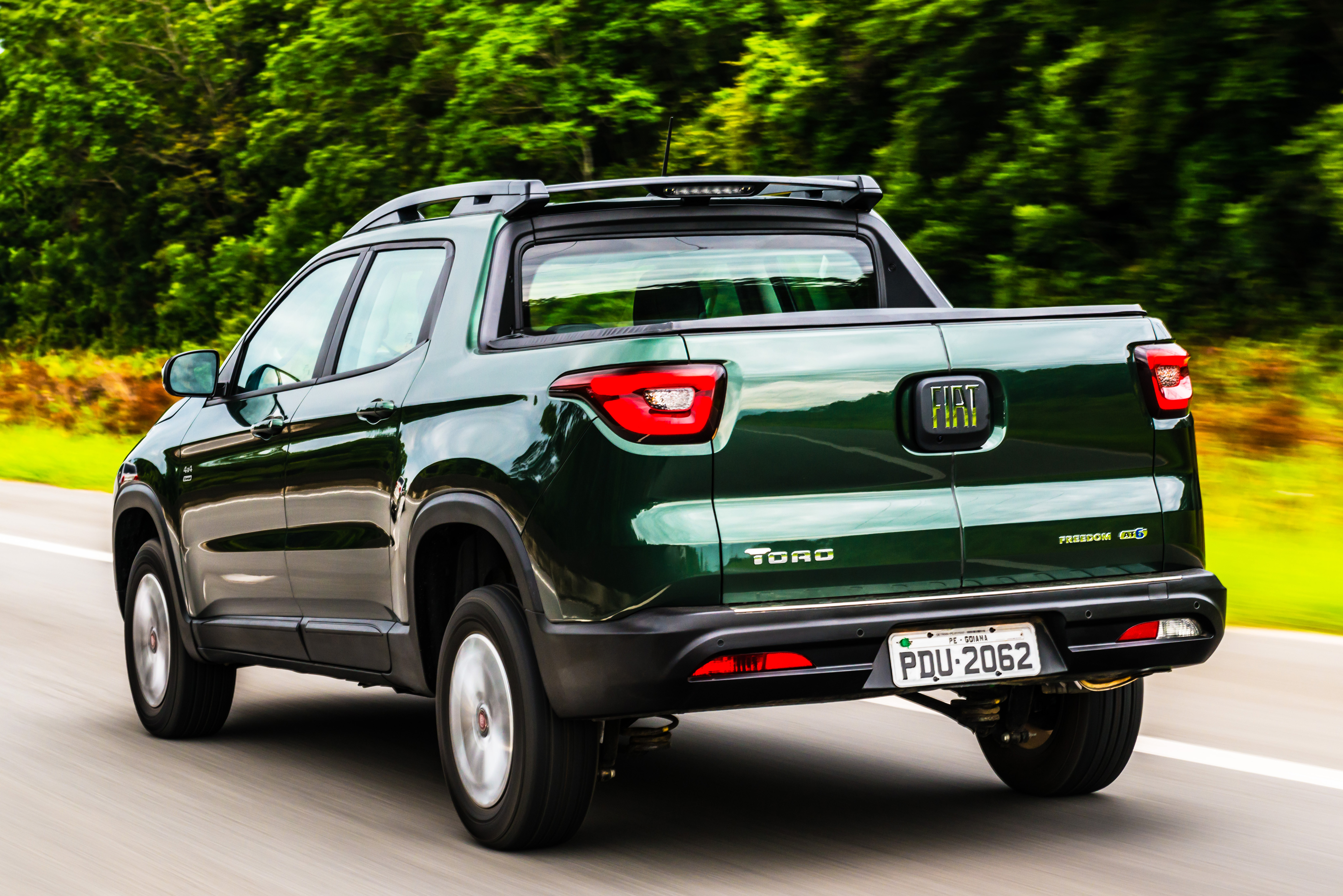 Fiat Toro Flex - traseira