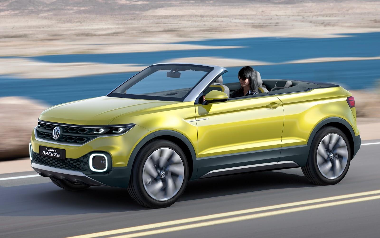 VW T-Cross Breeze 1