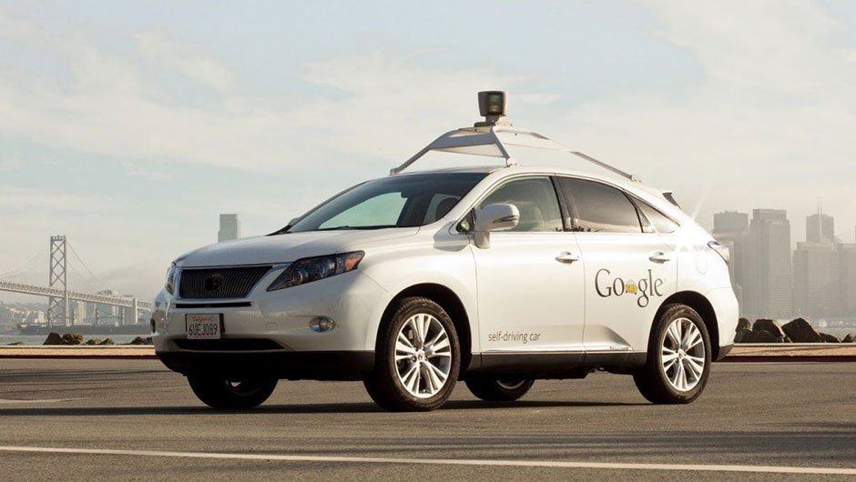 Lexus autônomo do Google