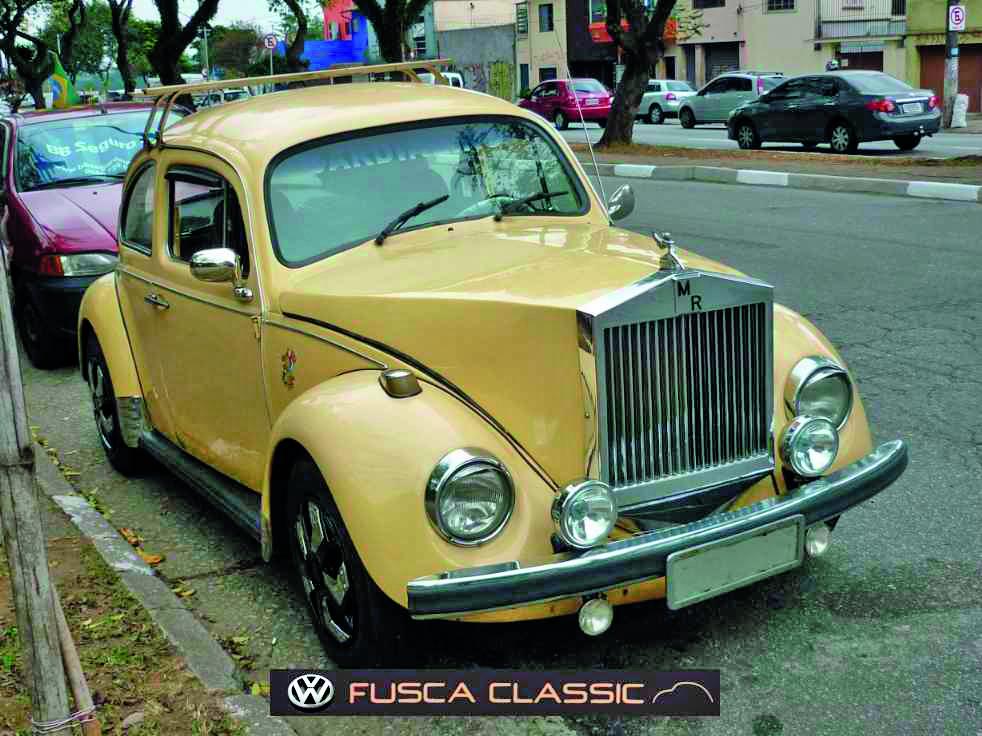 Fusca Rolls Royce