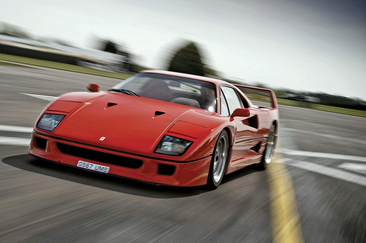 Ferrari F40 x F430
