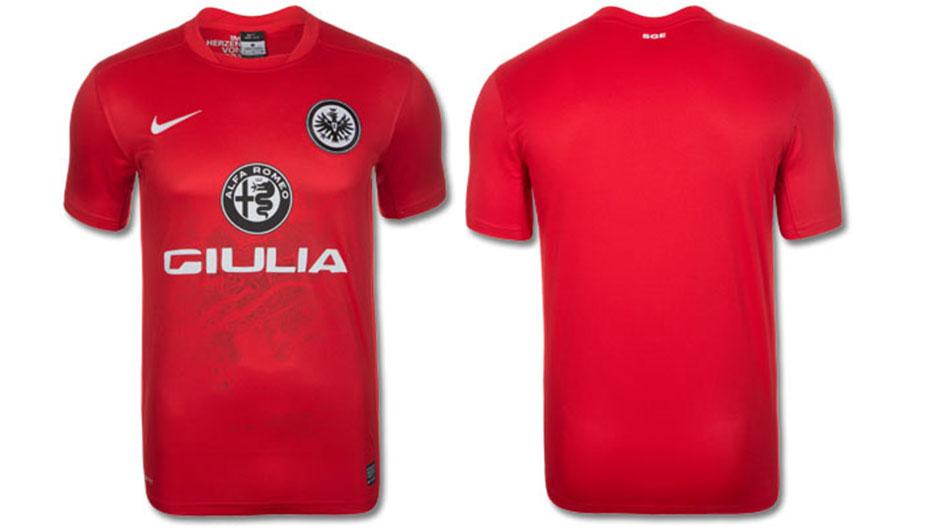 Camisa do Eintracht Frankfurt - Alfa Romeo