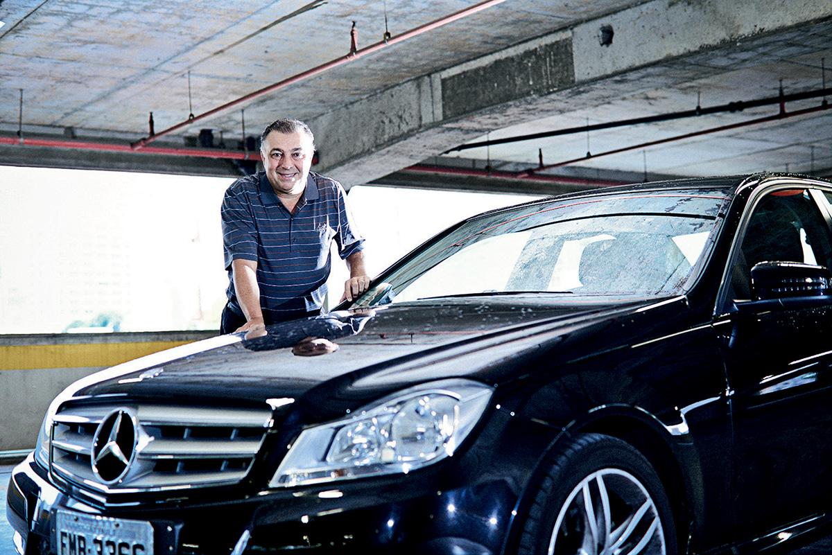 Alberto Guilger, proprietário de um C 180 2013