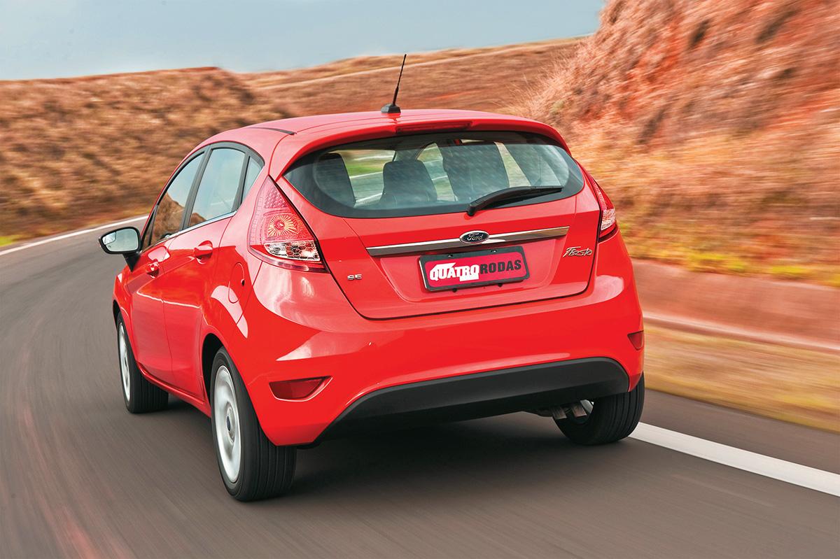 New Fiesta Hatch modelo 2012 da Ford, testado pela revista dscfsd Rodas