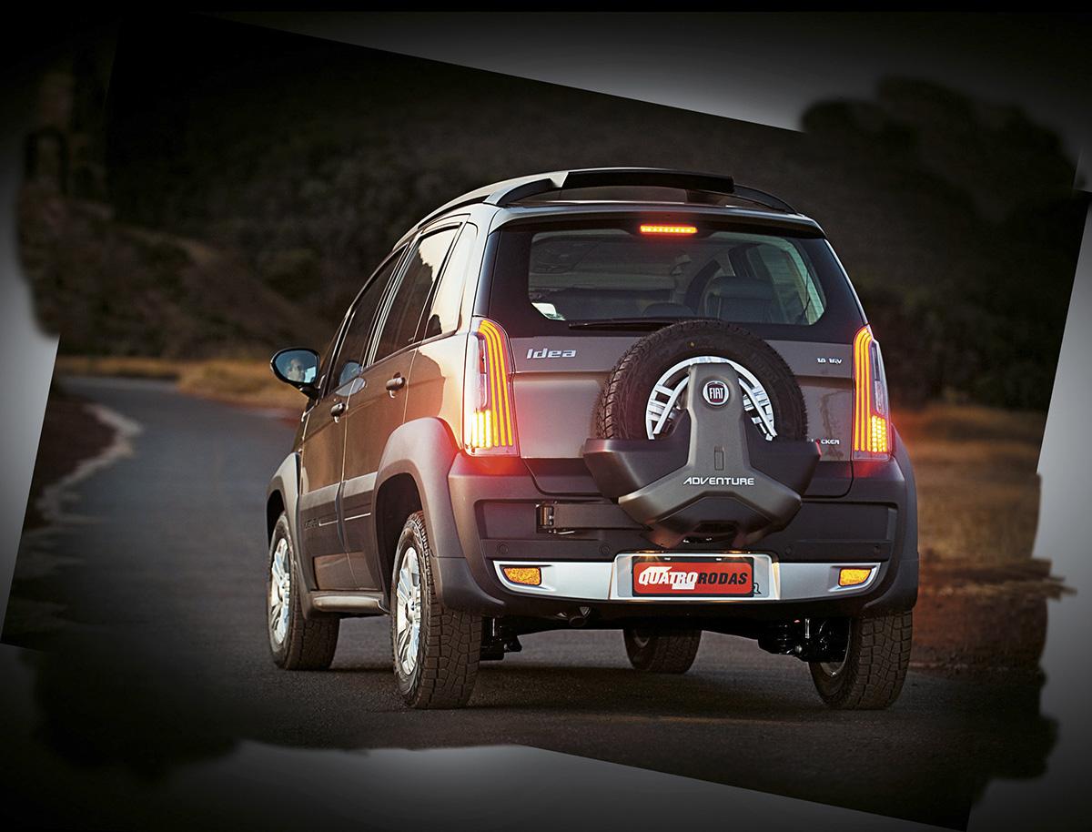 Idea Adventure modelo 2011 da Fiat