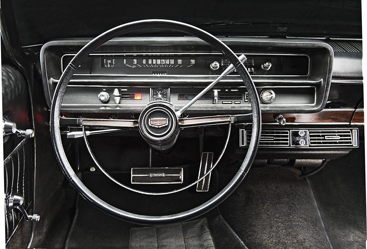 Interior do Galaxie LTD modelo 1976