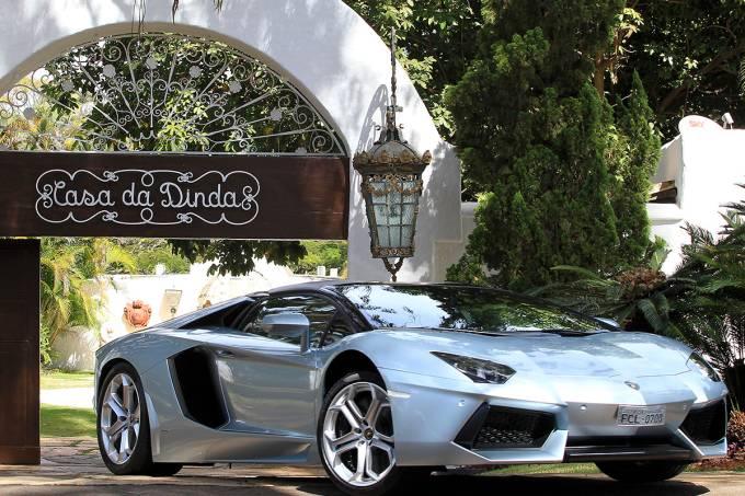 Lamborghini Aventador de Fernando Collor