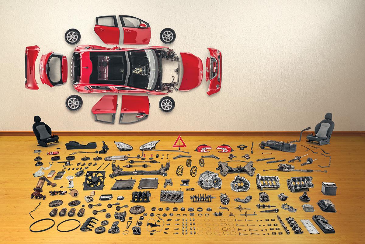 Peugeot 208 - desmonte