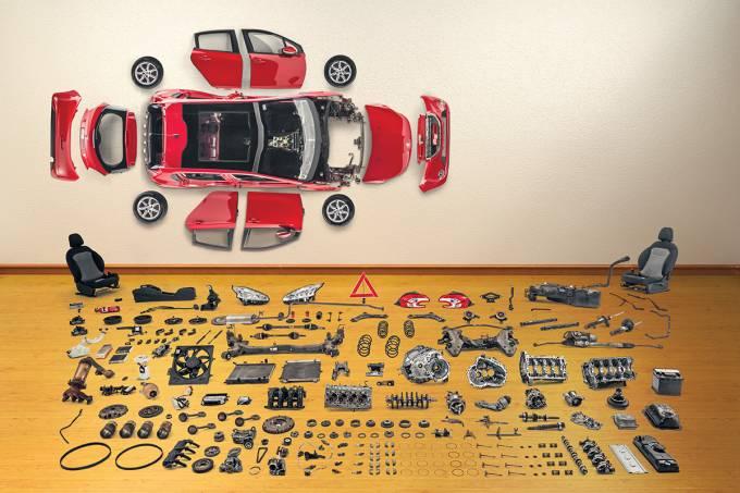 Peugeot 208 – desmonte