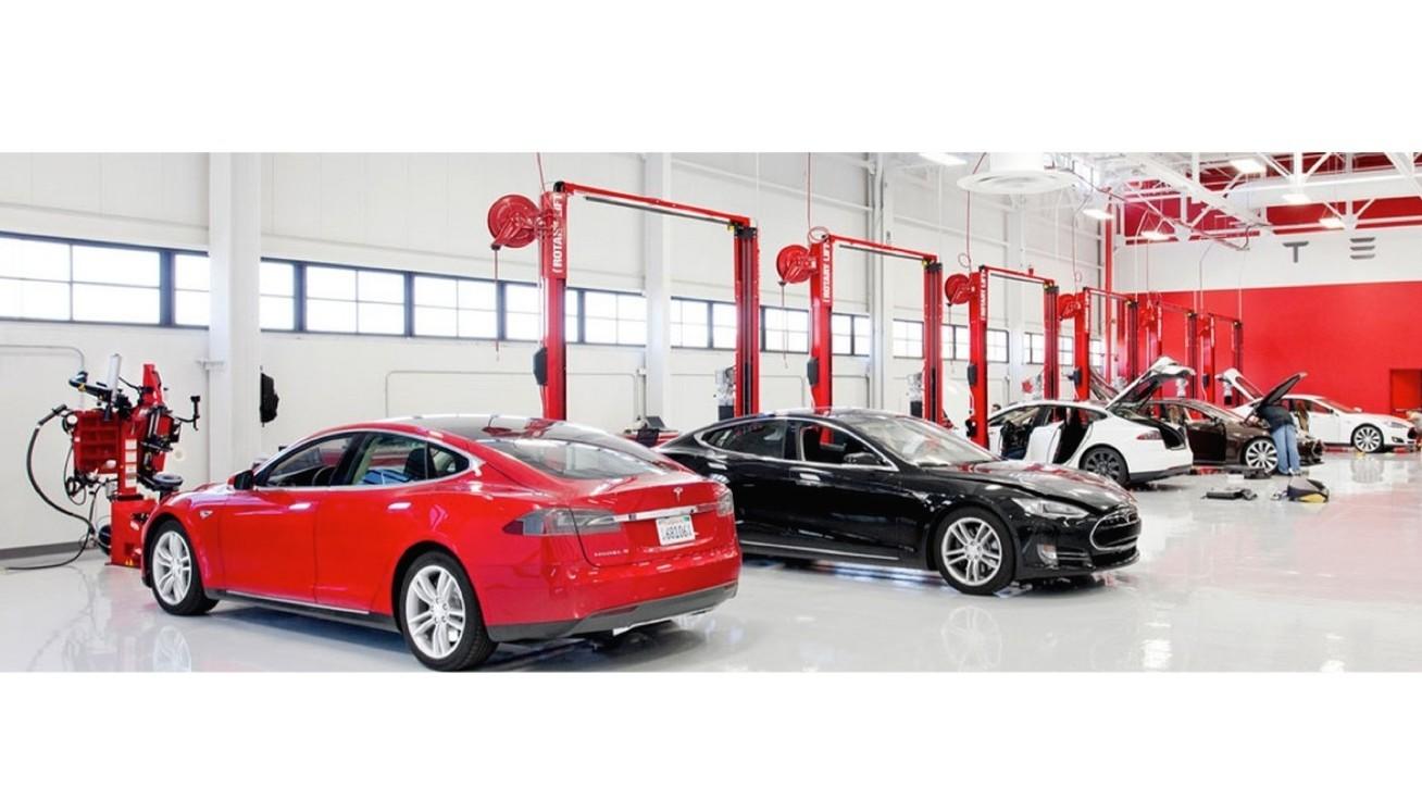 Centro de manutenção da Tesla