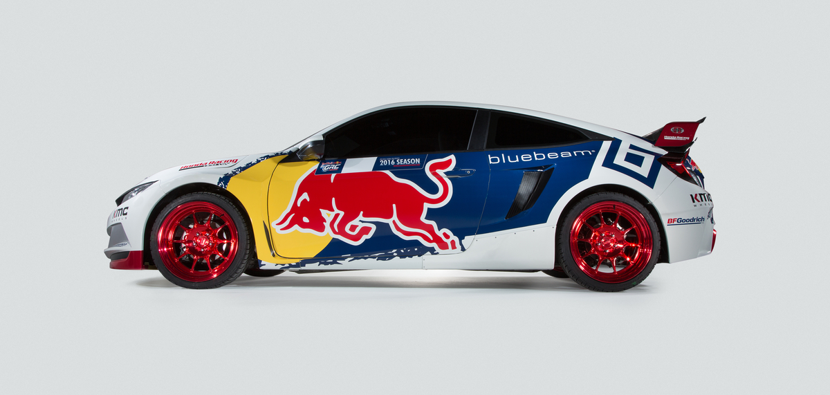 Honda Civic Coupé Rallycross