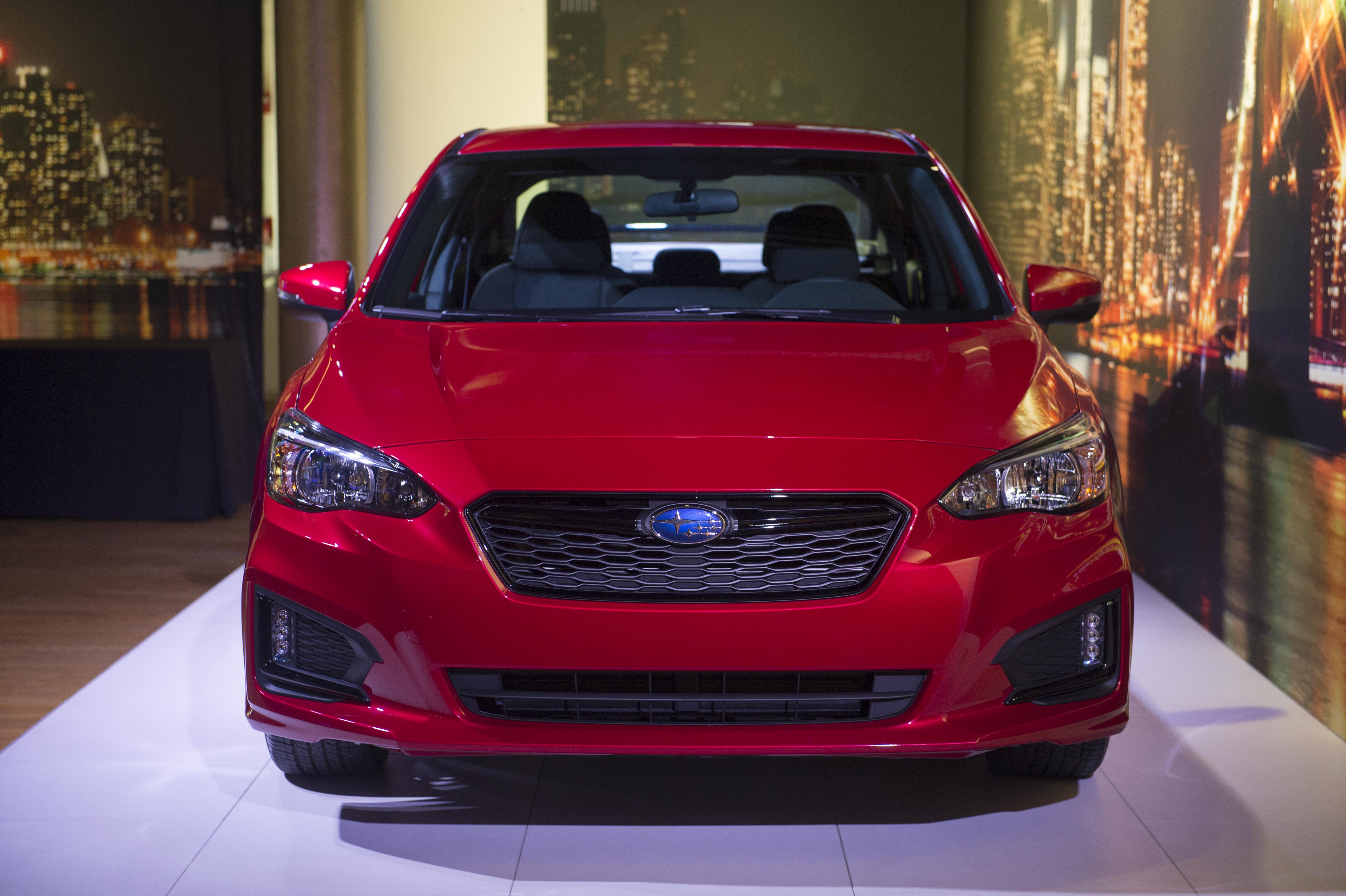 Novo Subaru Impreza sedã