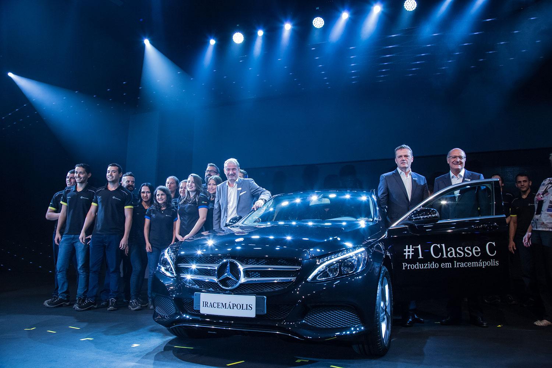 Mercedes-Benz: planta em Iracemapolis