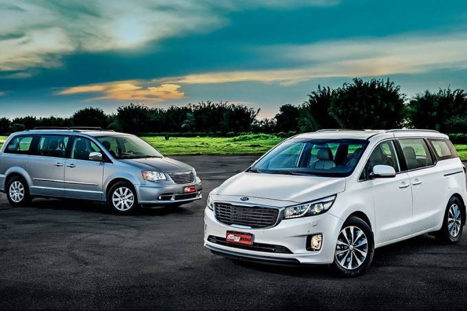 Kia Grand Carnival x Chrysler Town & Country