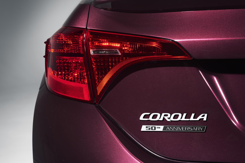 Toyota Corolla 50th Anniversary Special Edition