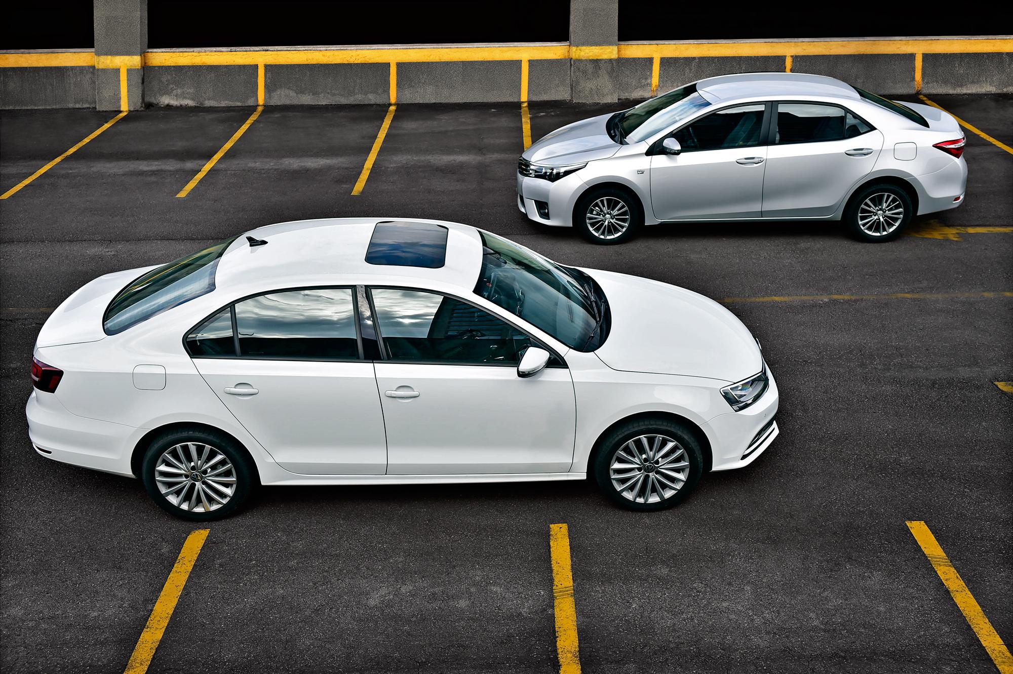 VW Jetta x Toyota Corolla