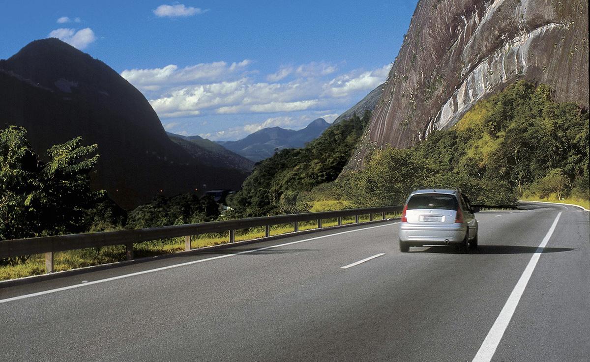 BR-040, rodovia na região serrana do estado