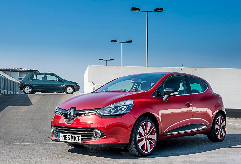 Clio I e IV geração perfil