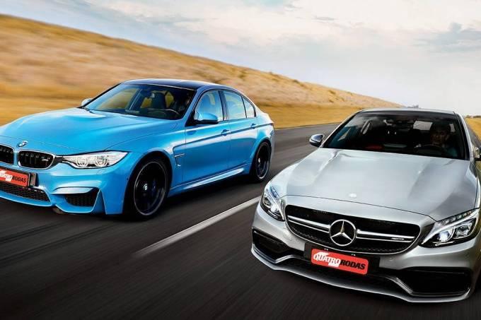 BMW M3 x Mercedes-AMG C 63 S