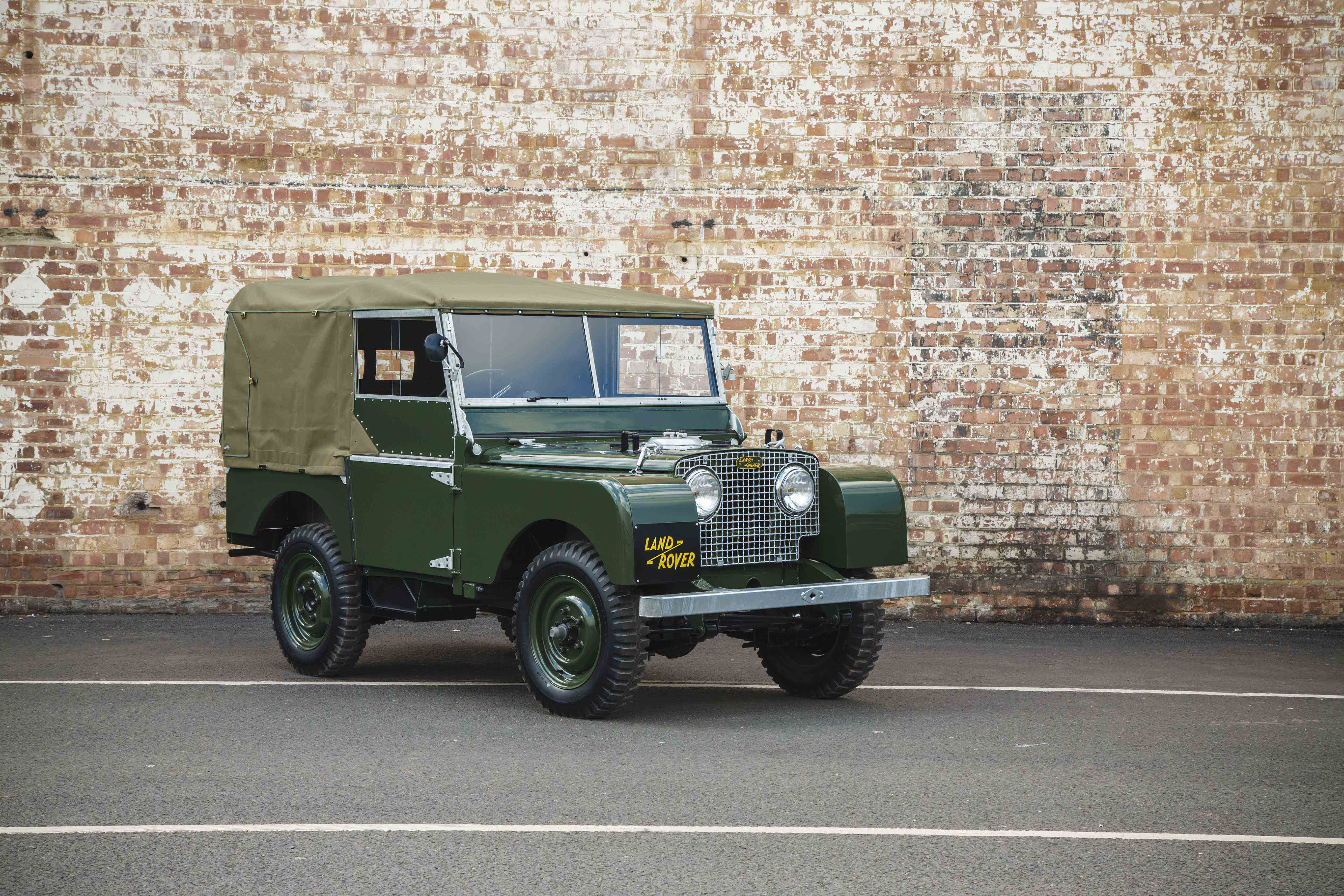 Land Rover Série 1 front