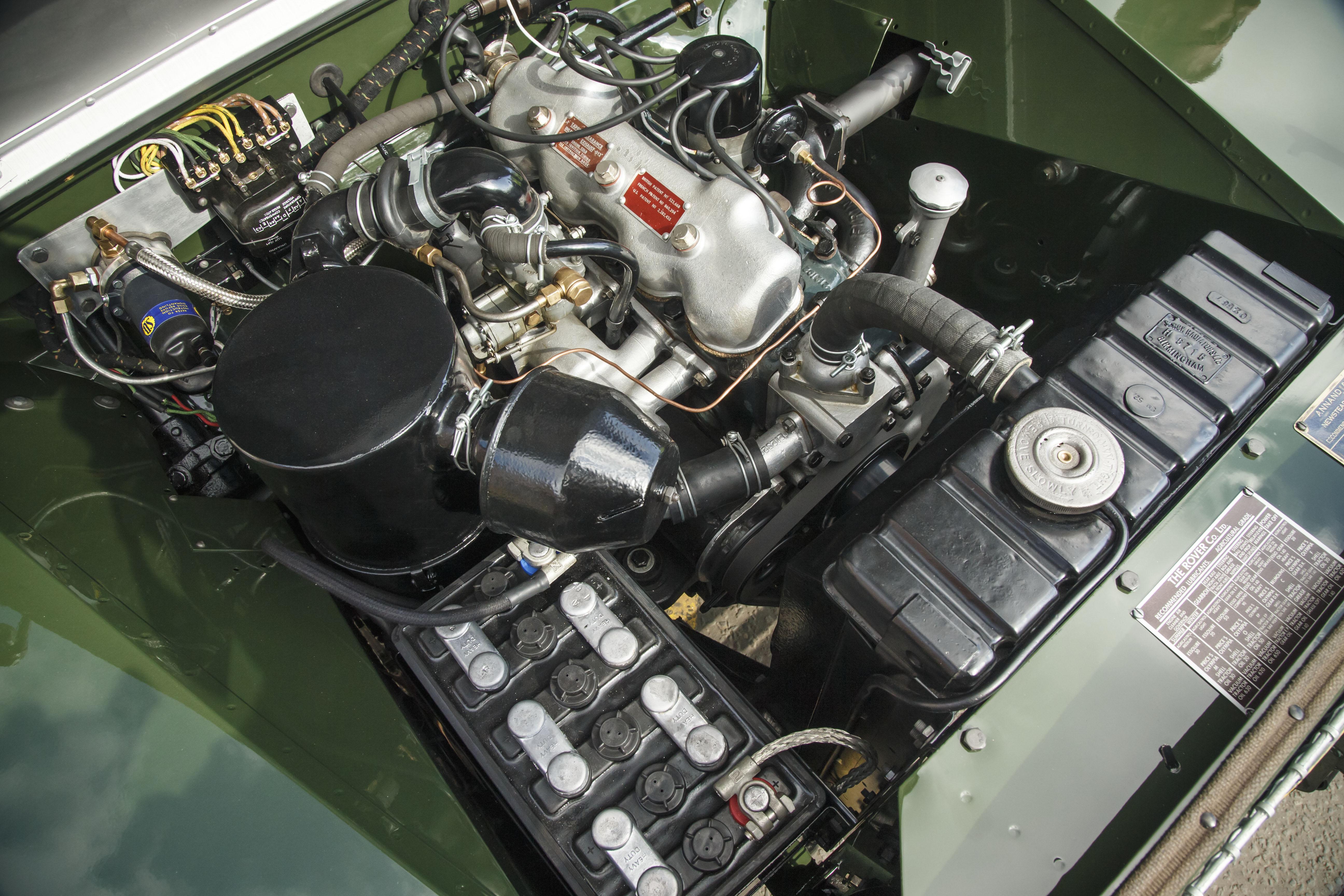 Land Rover Série 1 motor
