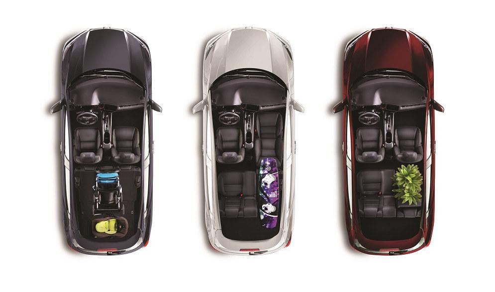 Honda HR-V ULT seats