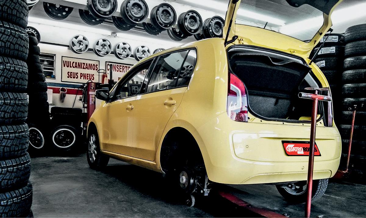 Desmonte do Volkswagen Up!