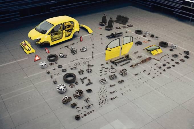 Longa Duração: desmonte do VW Up!