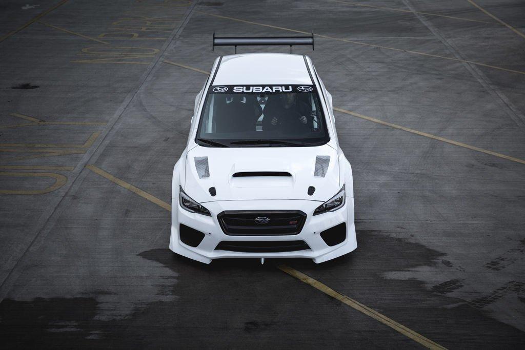 Subaru WRX STI Prodrive - Isle fo Man lap (1)