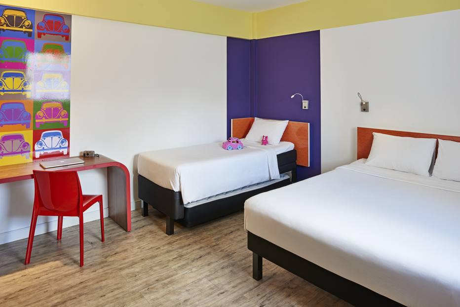 quarto hotel Fusca