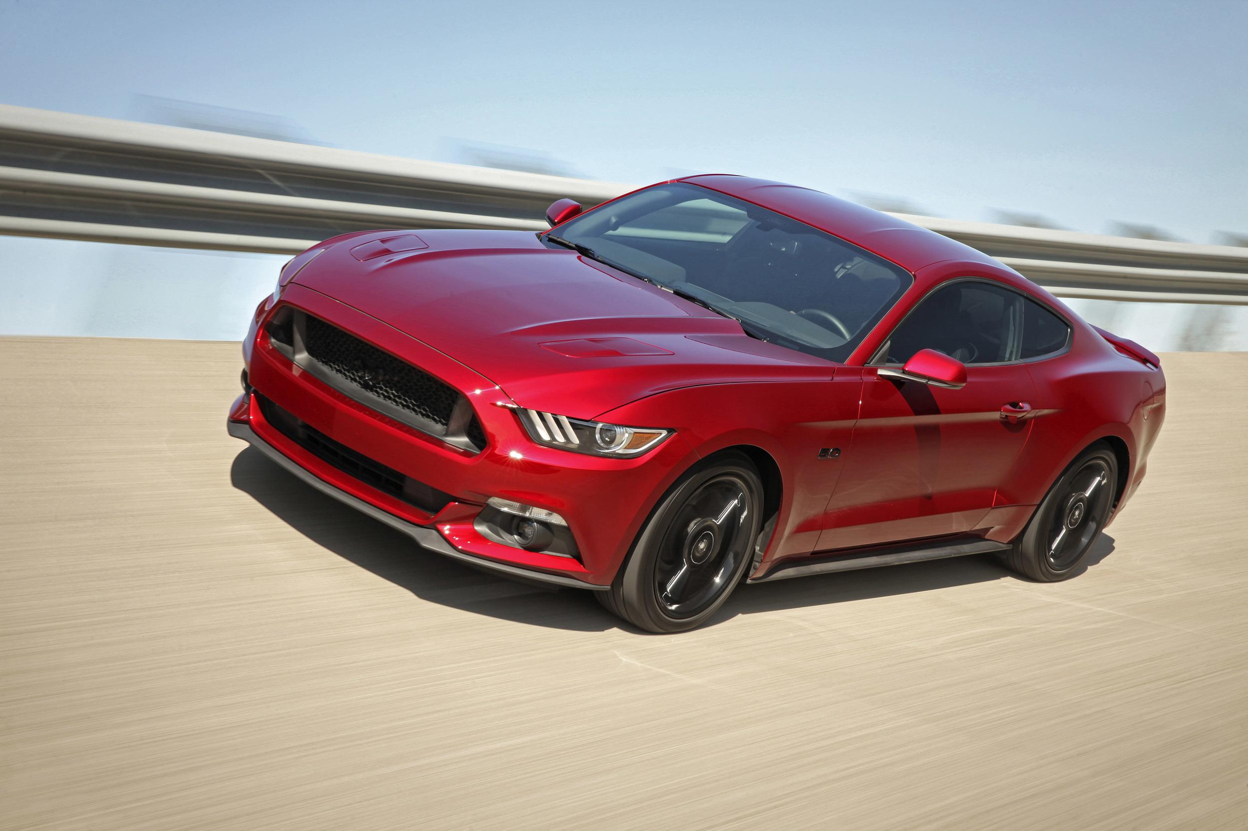 Mustang GT front