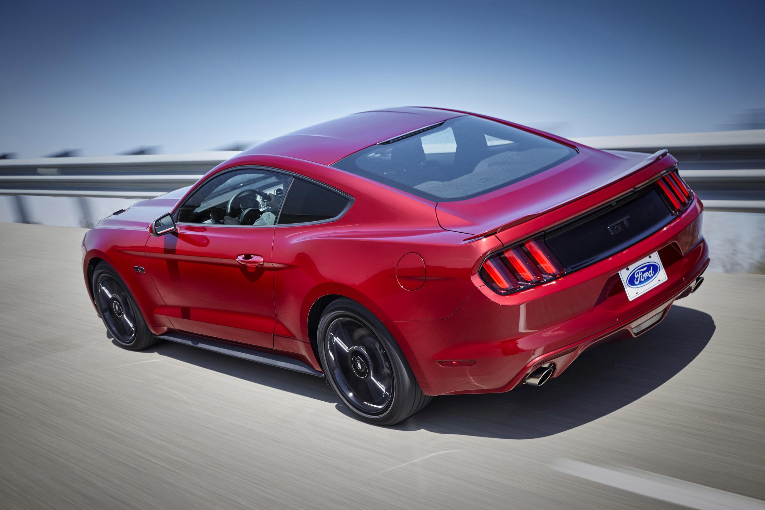 Mustang GT rear