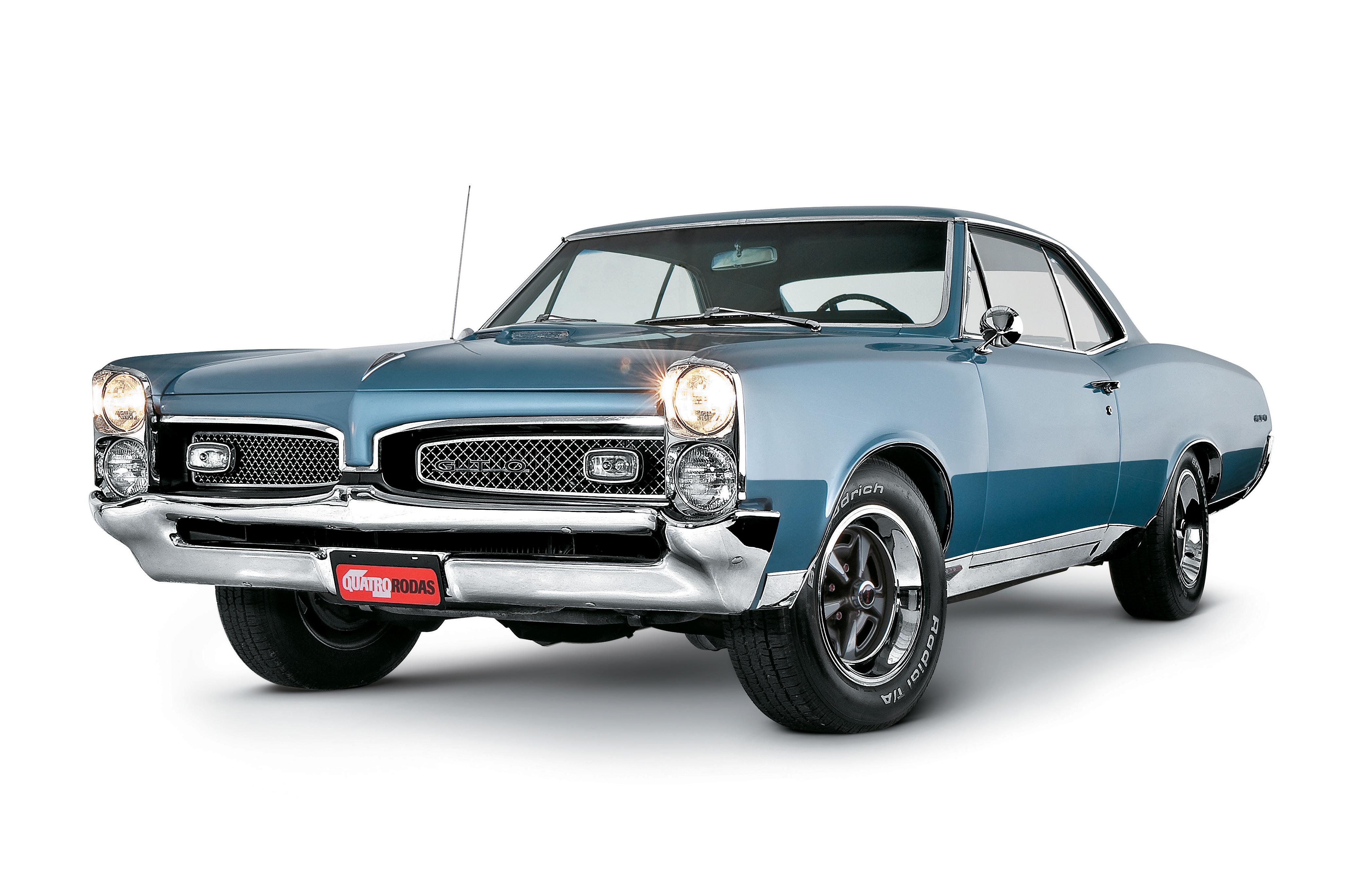 Pontiac Gto 1967 Musculos De Aco Quatro Rodas