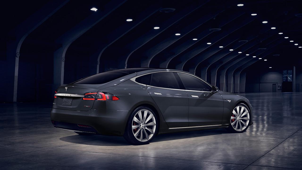 Tesla Model S facelift rear