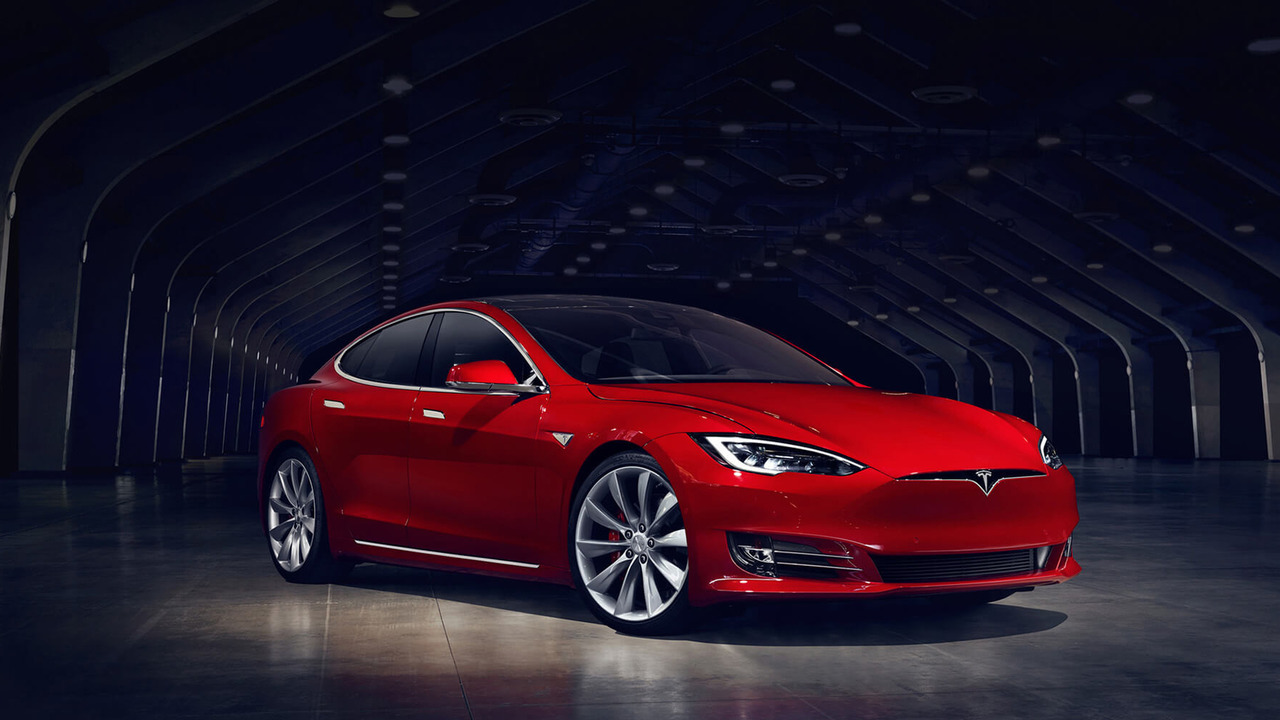Tesla Model S facelift front
