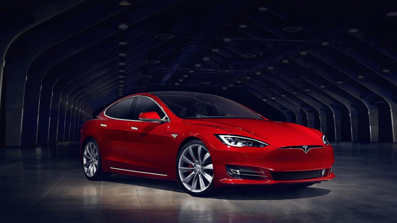Tesla Model S facelift front