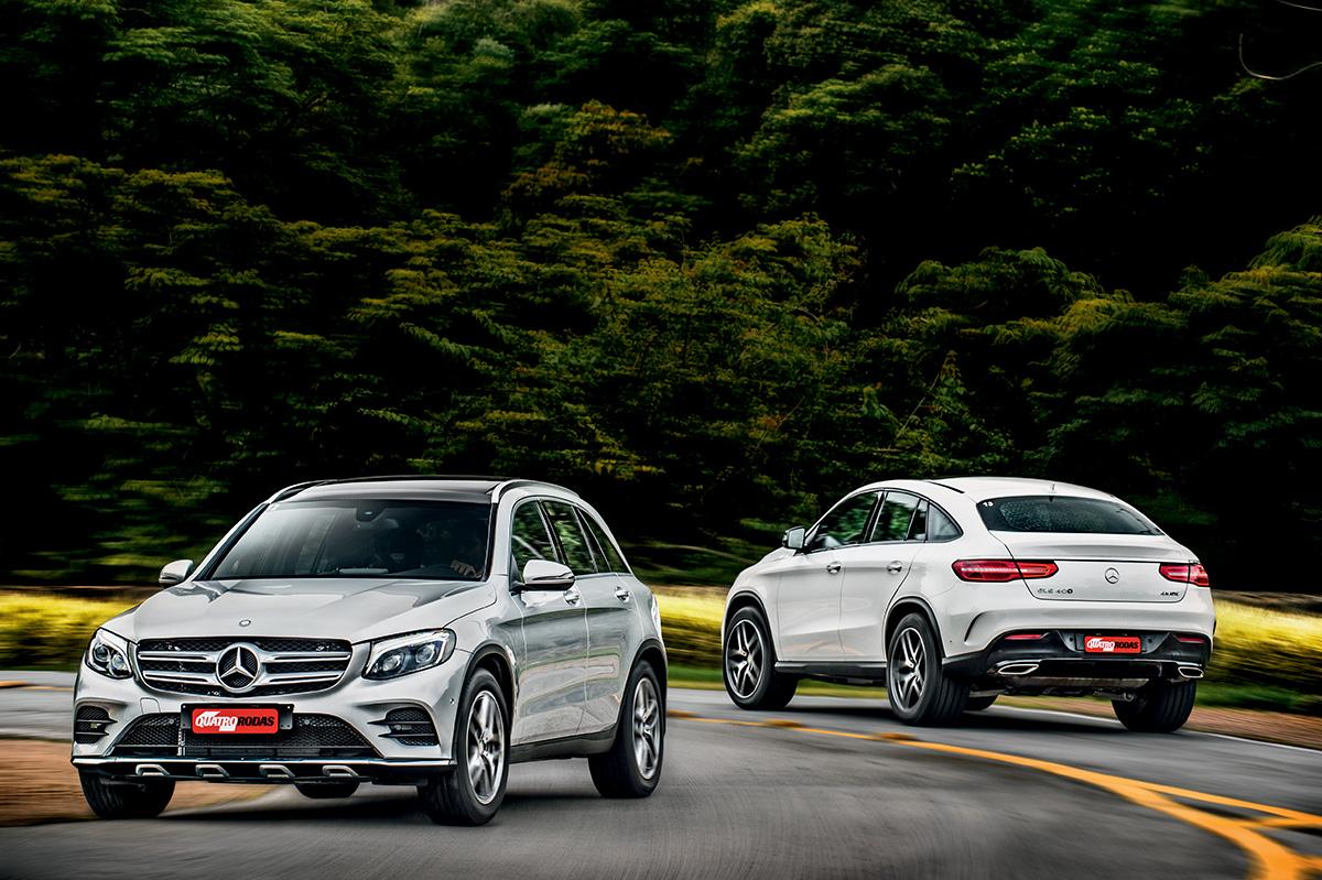 Mercedes-Benz GLC 250 e GLE 400 Coupé
