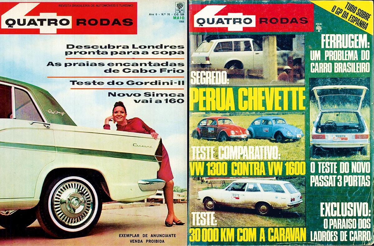 Marcha a ré - 1966 e 1976