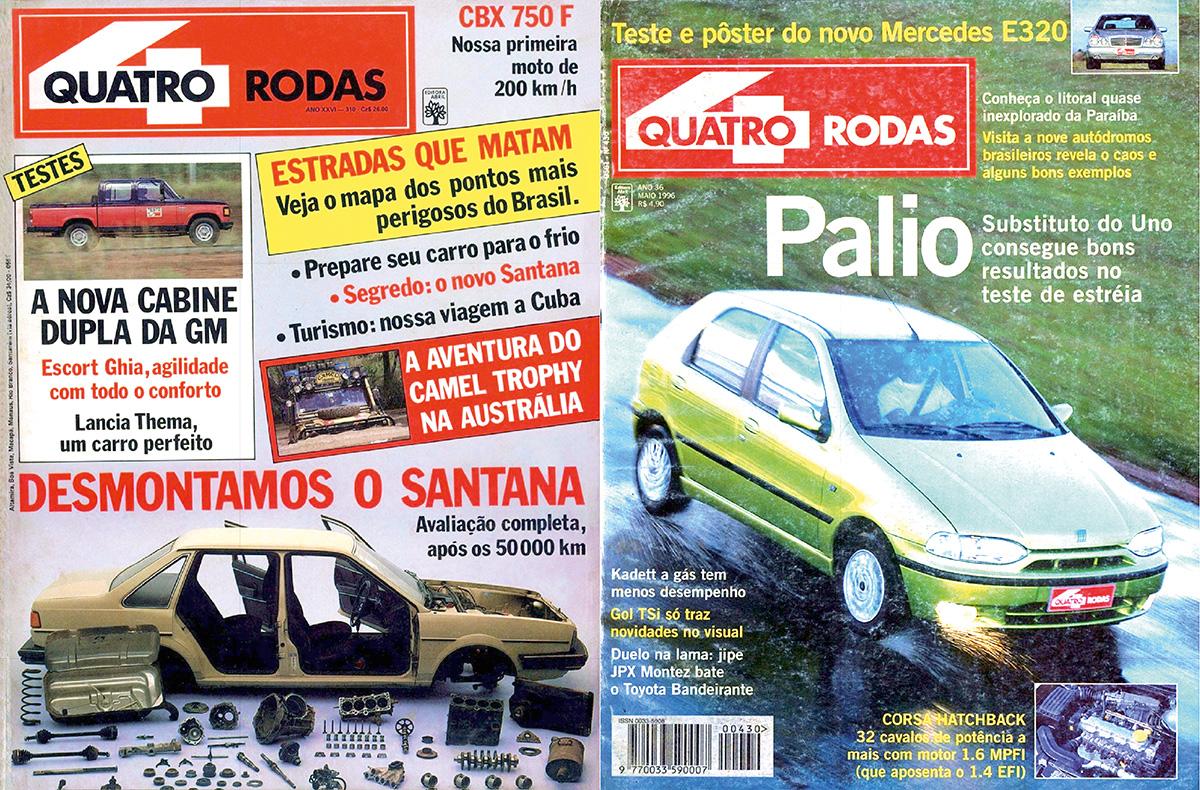Marcha a ré - 1986 e 1996