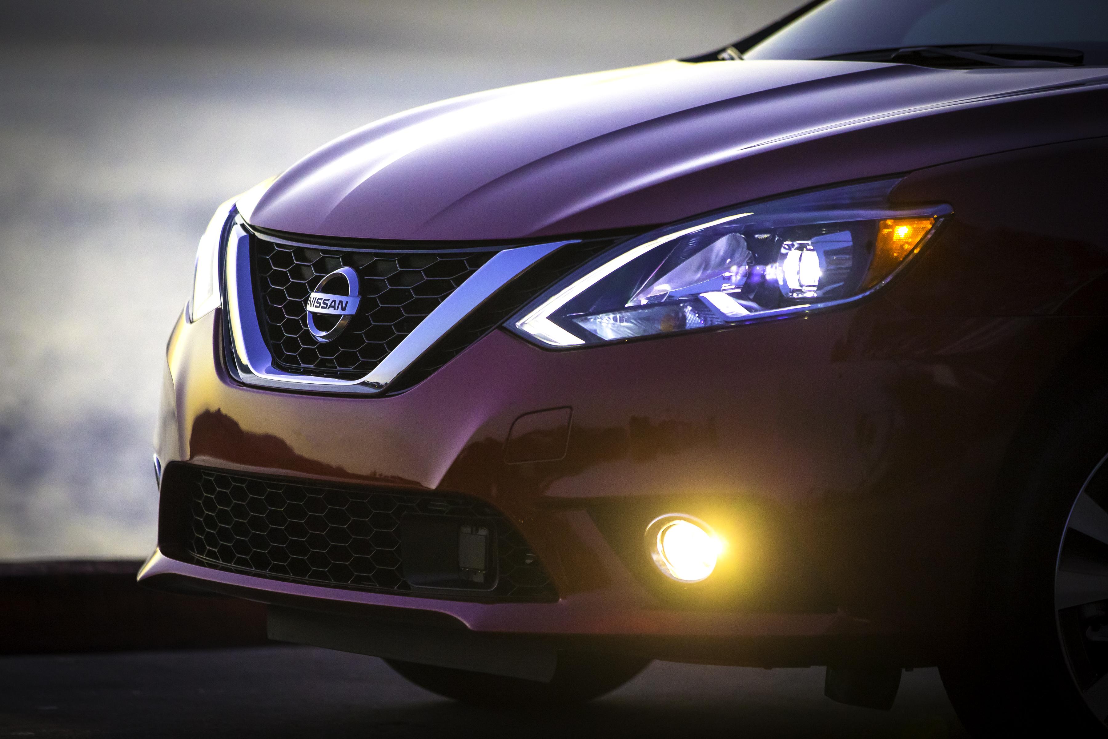 Nissan Sentra facelift 2016