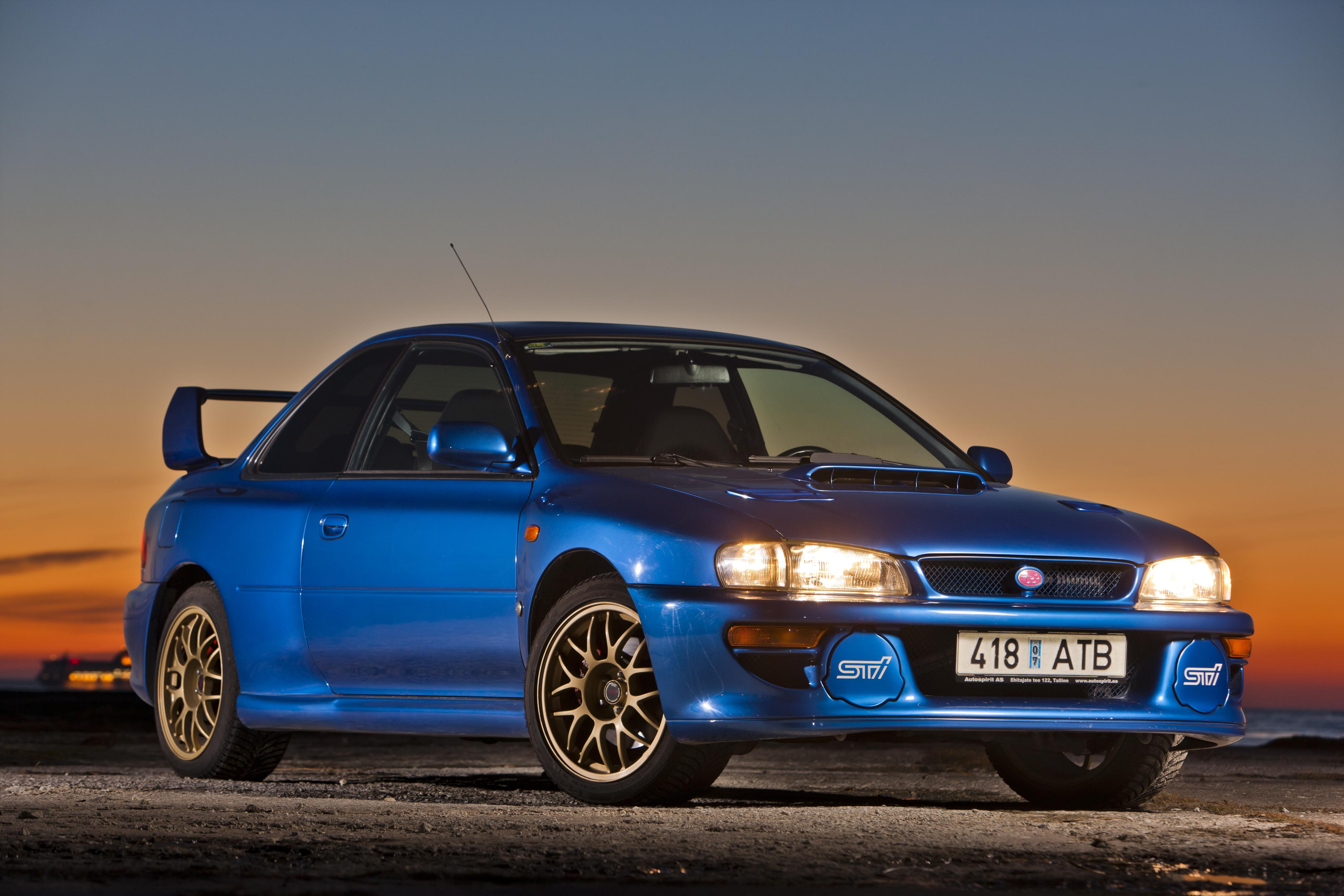 Subaru Impreza 22b STI 1998