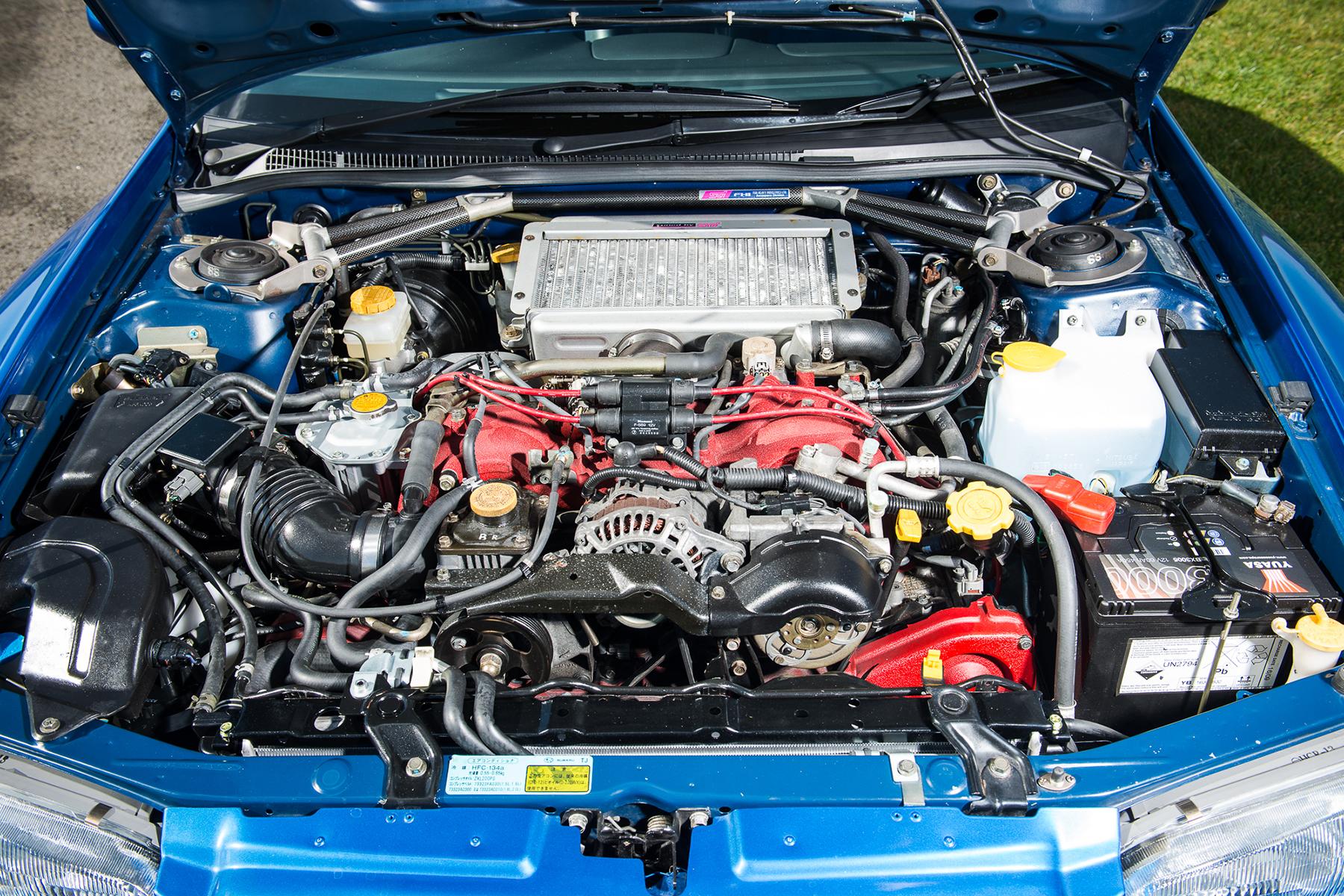 Subaru Impreza 22b STI engine