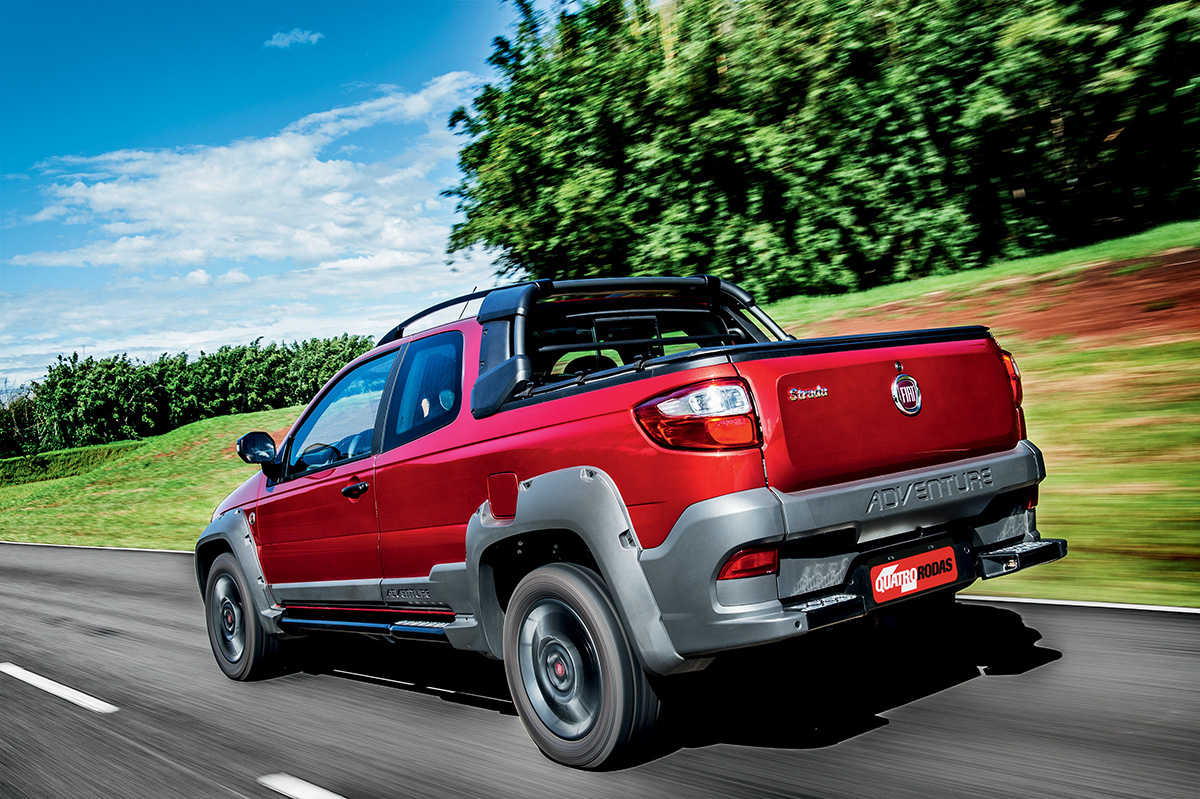 Fiat Strada Adventure x VW Saveiro Cross