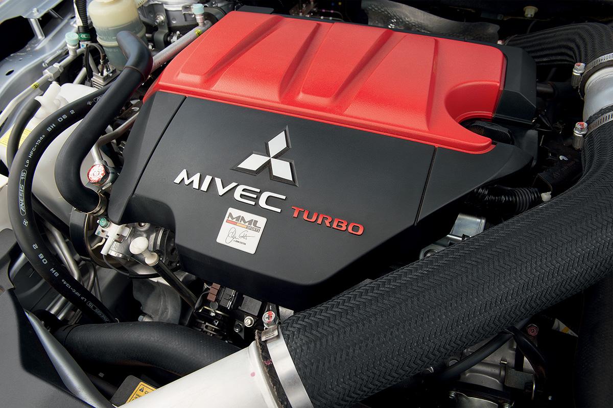 Preparação da Mitsubishi fez o motor 2.0 turbo atingir 340 cavalos