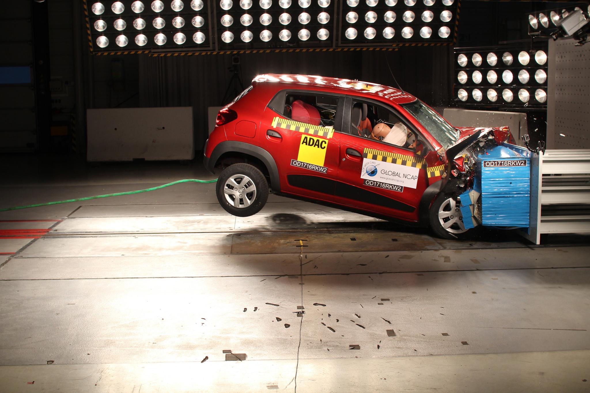 Renault Kwid - Global NCAP
