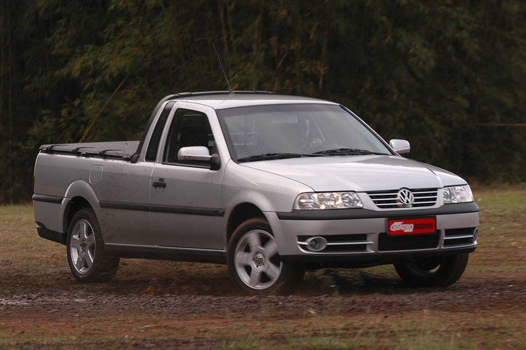 Volkswagen Saveiro, em teste comparativo realizado pela revista Quatro Rodas