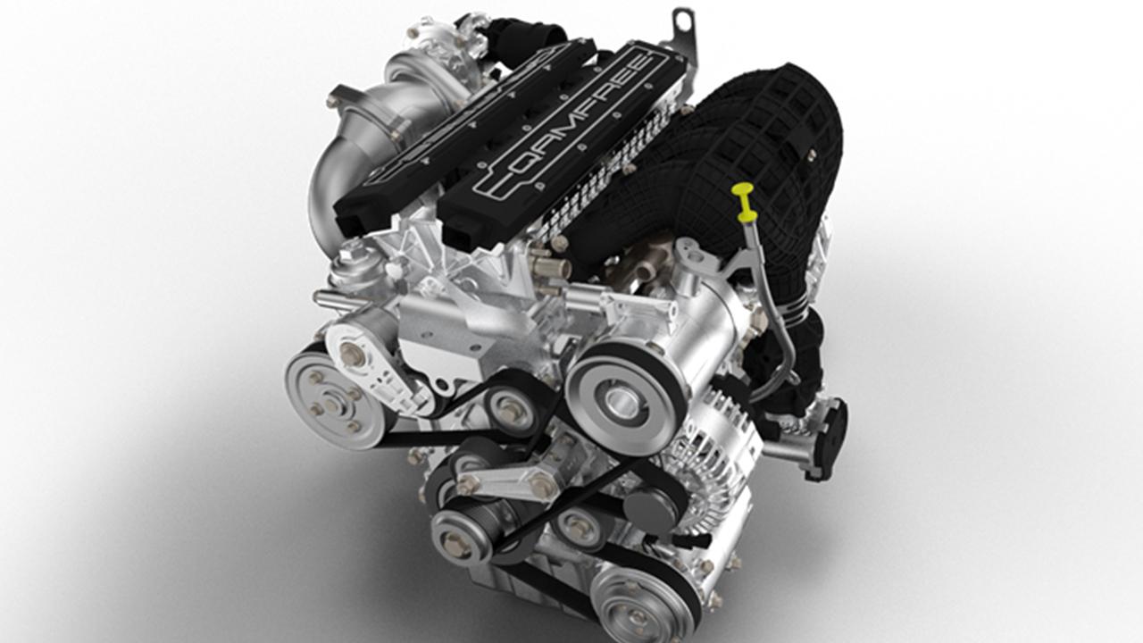 O motor Camfree (ou Qanfree) que será utilizado no Qoros