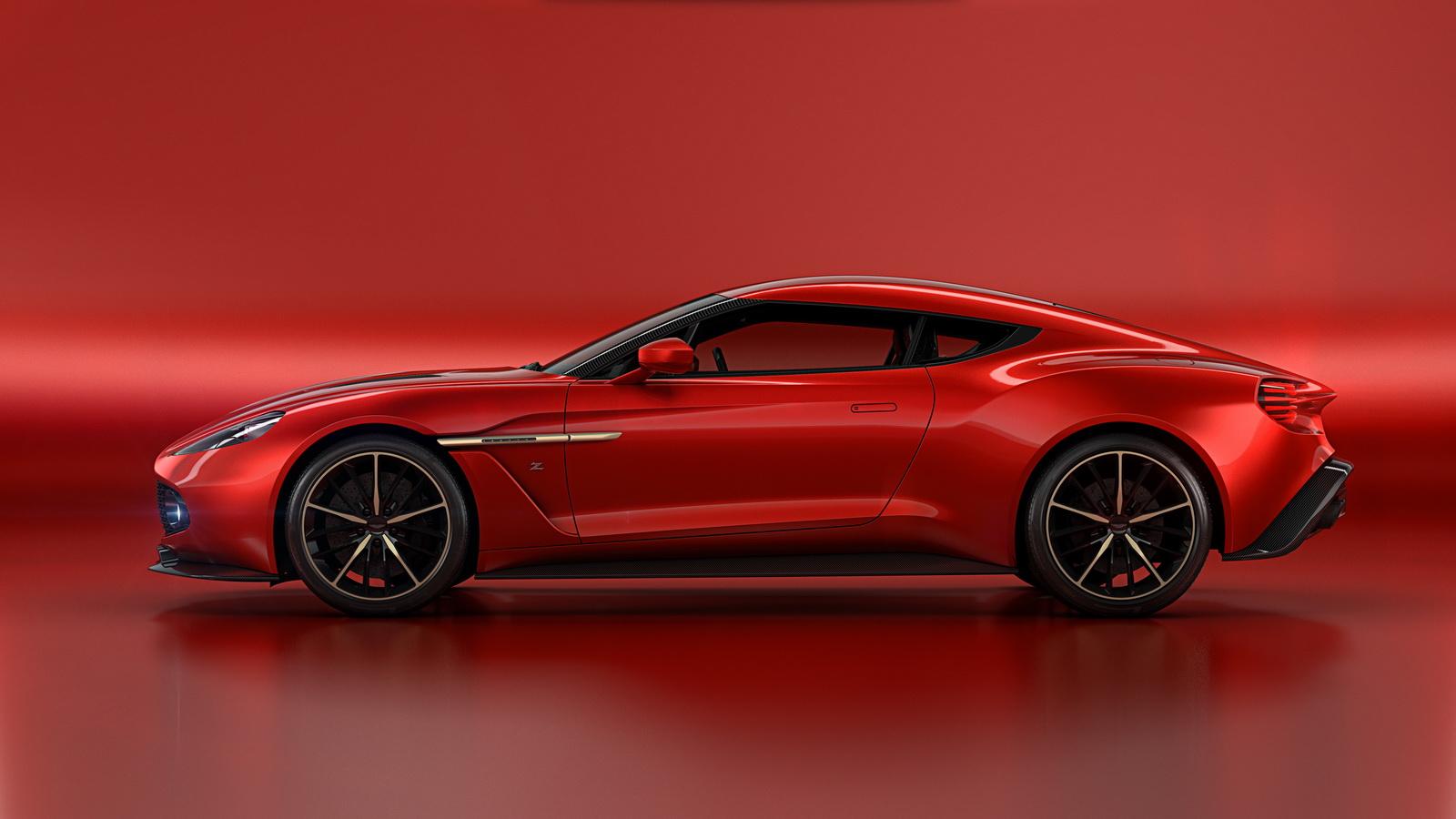 Aston Martin Revela O Belo Vanquish Zagato Concept Quatro Rodas