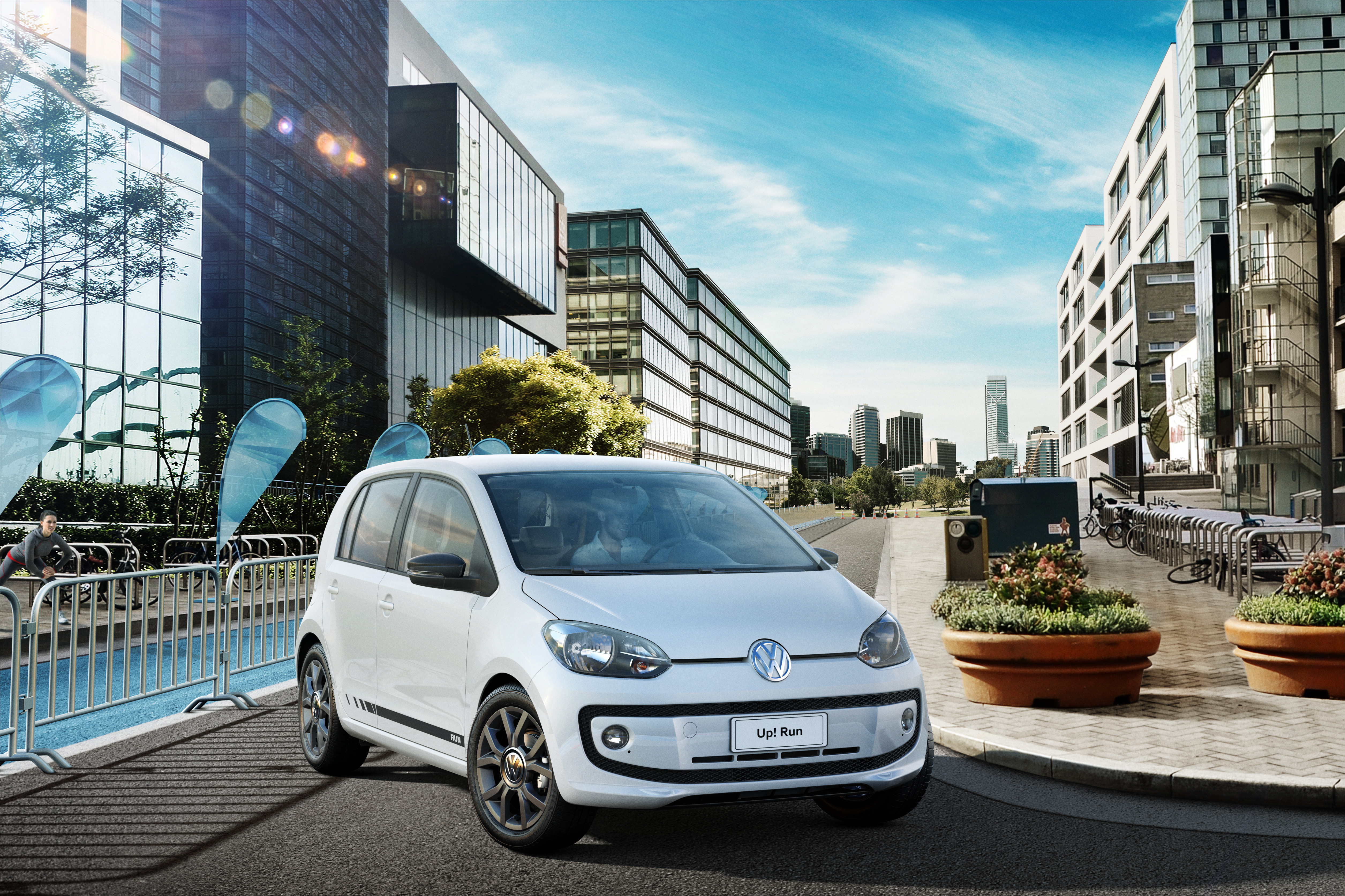 VW Up Run