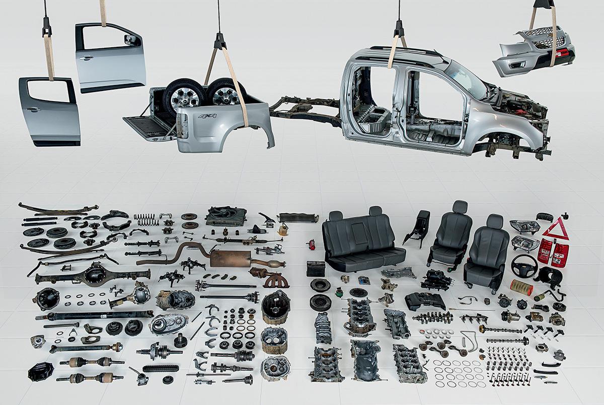 Desmonte da Chevrolet S10